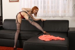 Black Bodystocking Play #12