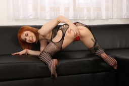 Black Bodystocking Play #14