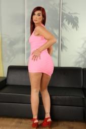 Pink Dress Masturbation #3
