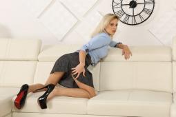 Secretary Dildo Play #7