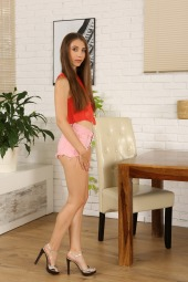 Stefany in Tiny Hotpants #1