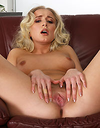 Wet And Puffy Set Teen Takes Monster Dildo
