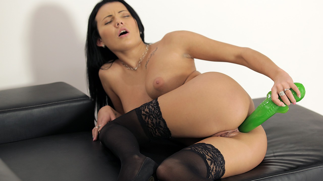 Simplyanal raven haired anal 1