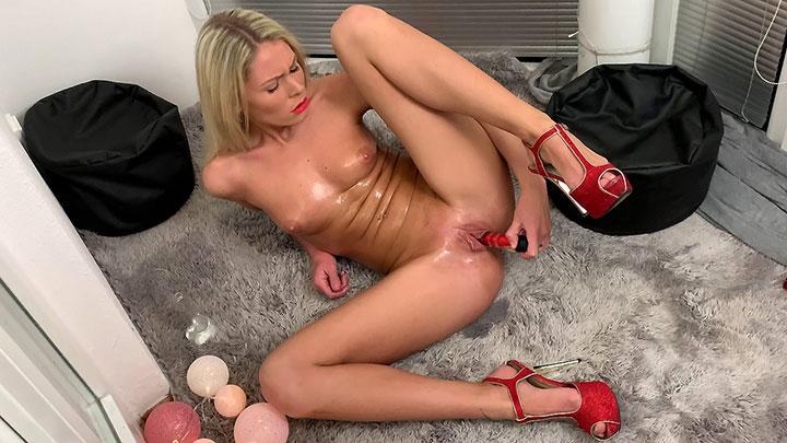 Porn Video Masturbating at Home